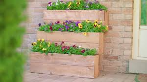 how to build a window flower box how to build a 3 tier planter box youtube
