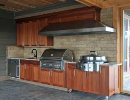 outdoor kitchen cabinets polymer stainless steel classic 3 piece