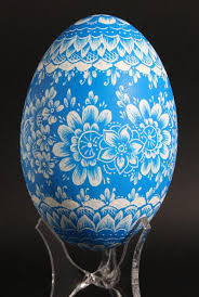 painted eggshells painted or scratched eggs from poland kraszanka