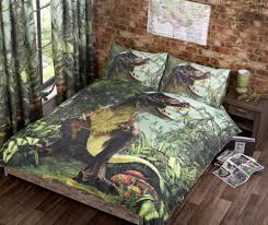 World Map Duvet Cover Uk by Jurassic World Bedding Trend T Rex Dinosaur Quilt Duvet Cover Bed