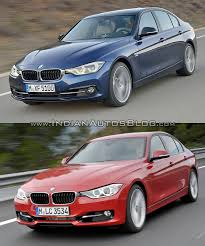Bmw M3 Old Model - 2015 bmw 3 series facelift vs older model old vs new