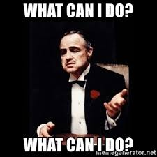 What Can I Do Meme - what can i do what can i do the godfather meme generator