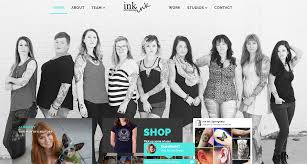 dl media launches new website for ink ink tattoos u0026 piercings dl