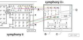 audi symphony 2 wiring audi symphony 2 2to wiring diagrams