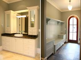 Bathroom Vanity With Side Cabinet Design Lines Blog Cabinetry Cary Home Bathroom Vanity And Hall Mud