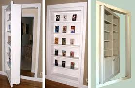 Wall Bookcase With Doors In Wall Shelves Shelves Ideas