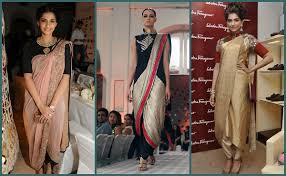 saree draping new styles latest saree draping styles make a trend