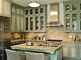 Kitchen Cabinets Green Colorful Kitchens With Charisma Traditional Home