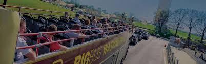 Big Bus Washington Dc Map Classic Patriot 1 Day Washington Dc Tour Ticket Big Bus Tours