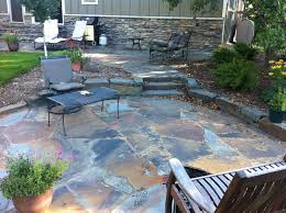 Irregular Stone Patio Alternatives To Bluestone Patio The Great Blue Stone Patio