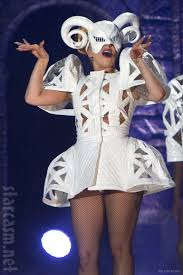 Lady Gaga Bad Romance Photos Lady Gaga In Various Costumes From The Born This Way Ball