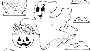 imagenes de halloween tiernas para colorear vistoso fantasma para colorear viñeta dibujos para colorear en