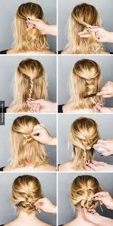 Hochsteckfrisurenen Kurze Haare Selber Machen by Braided Ponytail Für Kurze Haare Haare Kurze Haare