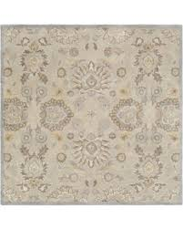6 Square Area Rug Bargains On Of Knot Cabrin 6 Square Area Rug