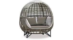 coco egg outdoor lounger