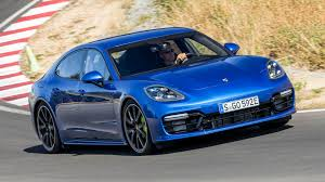 blue porsche panamera 2018 porsche panamera turbo s e hybrid review the future is awesome