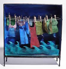 Washing Color Clothes - margaret delima