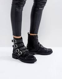womens leather biker boots australia s boots ankle knee high the knee asos