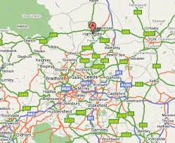 map uk harrogate bomber history harrogate stonefall cemetery uk