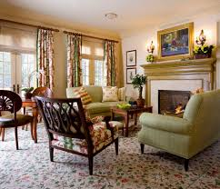 Living Room Curtains Traditional Decor Curtain Rods With Window Treatments Living Room Traditional