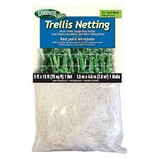 gardeneer 5 x 60 ft trellis netting hayneedle