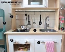 Ikea Kitchen Cart Makeover - custom ikea play kitchen ideas on how to accessorize ikea