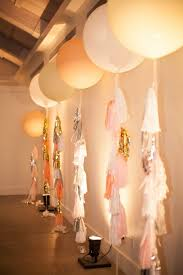 large white balloons styled by starlet beautiful balloons
