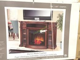 Electric Fireplace Media Console Well Universal 72 U201d Electric Fireplace Media Mantle U2013 Costcochaser