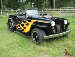 willys jeepster custom willys overland jeepster street rod
