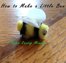 easy little bee craft