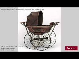 Gothic Baby Cribs by English Antique Baby Carriage Crib Cradle Gothic Misc Youtube