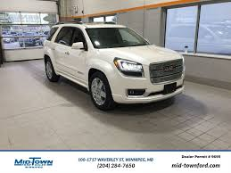 lexus winnipeg service new and used gmc acadia for sale in winnipeg