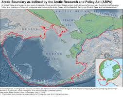 Alaska And Usa Map by Arctic Gov U003e Maps
