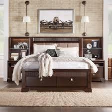 homesullivan nichols 3 piece brown queen bedroom set 40313bq