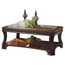American Signature Coffee Table Ledelle Coffee Table Brown Signature Design By Ashley Target