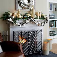 Crate And Barrel Home Decor Christmas Mantel Ideas Crate And Barrel Blog