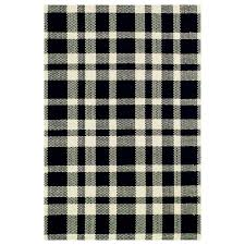 Woven Cotton Area Rugs Dash And Albert Rugs Woven Cotton Black Area Rug Reviews