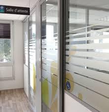bureau vitre sticker vitre occultant avec adh sif pour vitre fashion designs