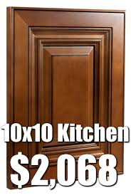 Tan Kitchen Cabinets by Rta Almond Glaze 10x10 Kitchen Cabinets For 2 068 27 Buy Rta