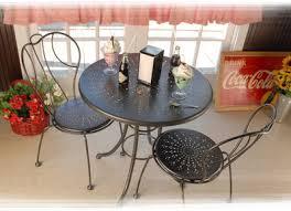 Espresso Bistro Table Homecrest Espresso Bistro Set Furniture For Patio