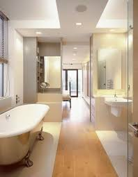 Small Ensuite Bathroom Renovation Ideas How To Design A Long Narrow Bathroom So That More Efficient And