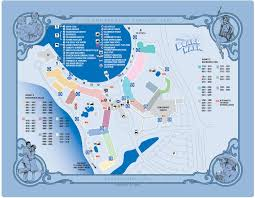 Caribbean Beach Resort Disney Map by Walt Disney World Maps For Theme Parks Resorts Transportation
