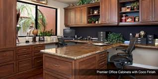 Home Office Design Shelving Cabinets Drawers Organizers - Custom home office designs