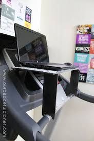 Diy Treadmill Desk Treadmill Laptop Desk Tutorial Treadmill Desk Desks And