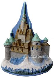 disney frozen elsa olaf castle ornament penn plax aquarium