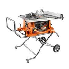 black friday special table saw home depot dewalt 15 amp 10 in job site table saw with rolling stand