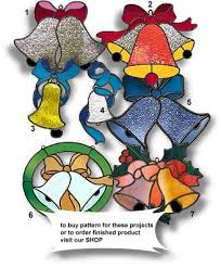 Glass Bell Christmas Ornaments - 244 best stained glass christmas images on pinterest stained