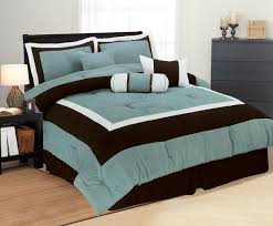 Brown And Blue Bedding by Fresh Aqua Blue Bedding Sets 16616
