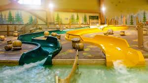 great wolf lodge poconos whooping hollow kids slides