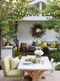 small courtyard designs patio contemporary with swan chairs casual porch and patio dining farm style table modern chairs
